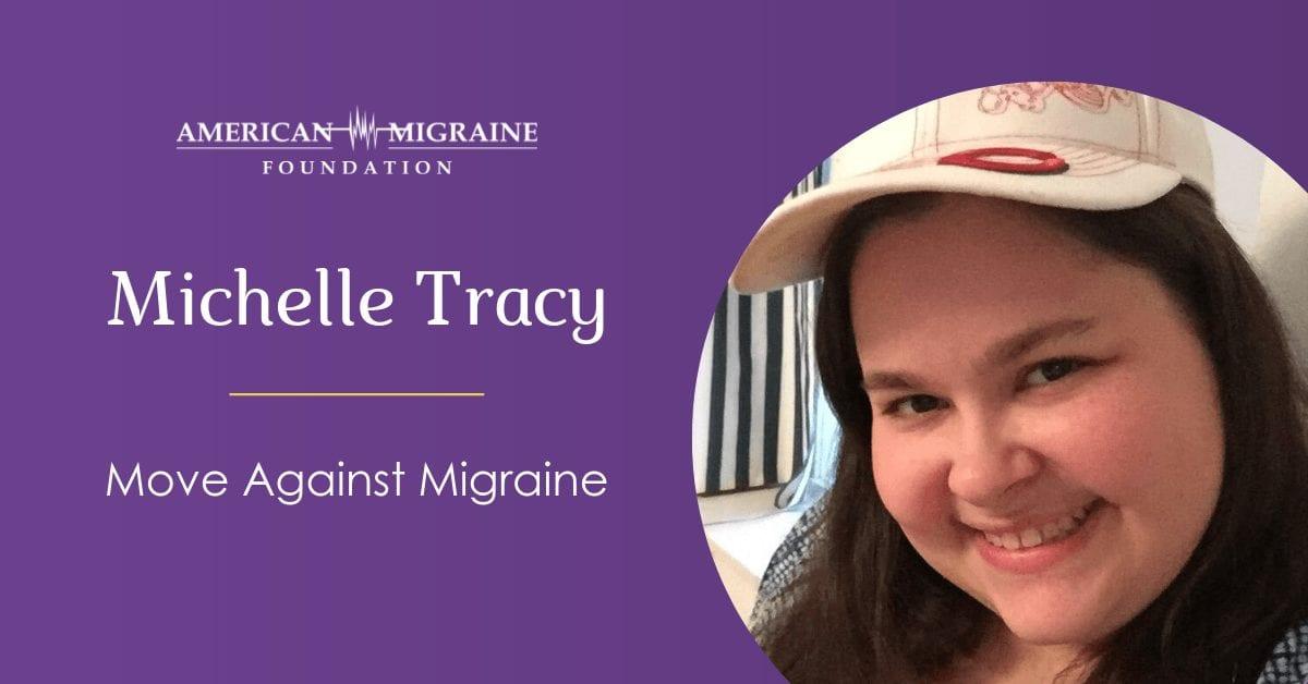 Michelle Tracy - Move Against Migraine moderator