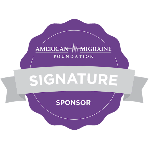 AMF Signature Sponsor Badge