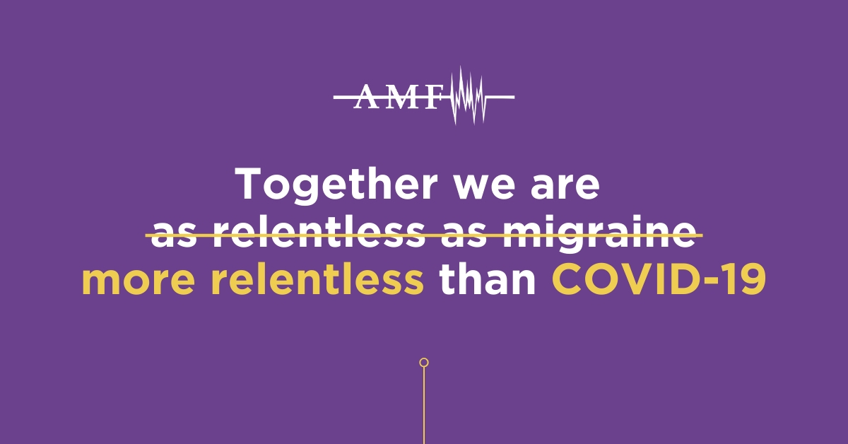 Together we are more relentless than COVID-19