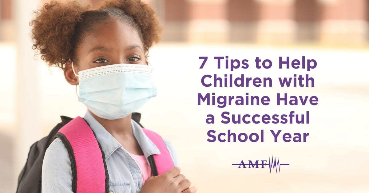 Tips to help children with migraine