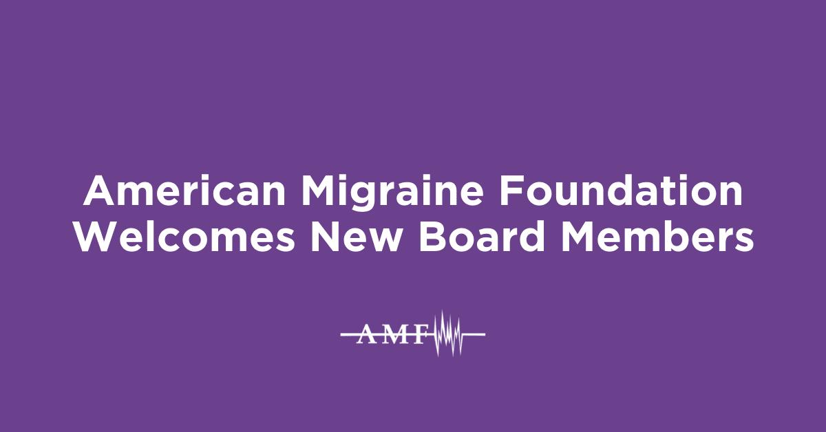 AMF New Board Members